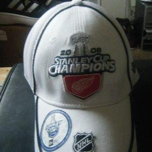 NEW ERA 2008 Stanley Cup Champions Cap